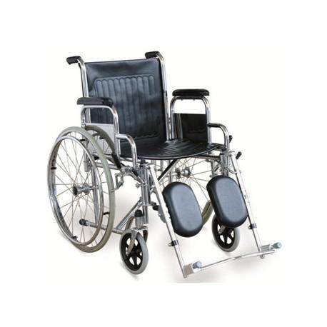 Chaise Roulante Standard A Manuel Avec Accoudoirs Amovibles