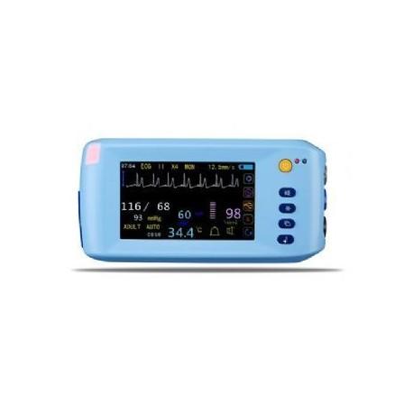 AJ-3000Palm     Moniteur patient intelligent multi de paramètre d'écran tactile de 5 pouces