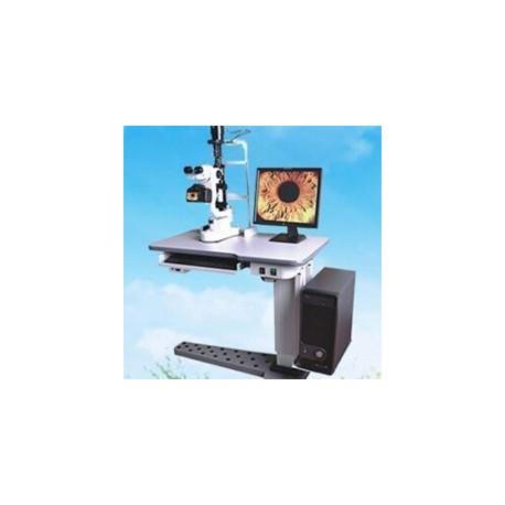 AJ-5D / 5D1 / 5D2 Microscope numérique à lampe à fente avec table électrique